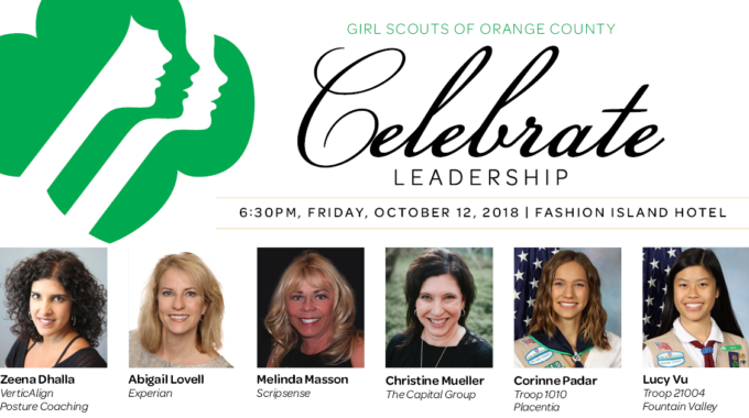 Celebrate Leadership With The Girl Scouts Of Orange County